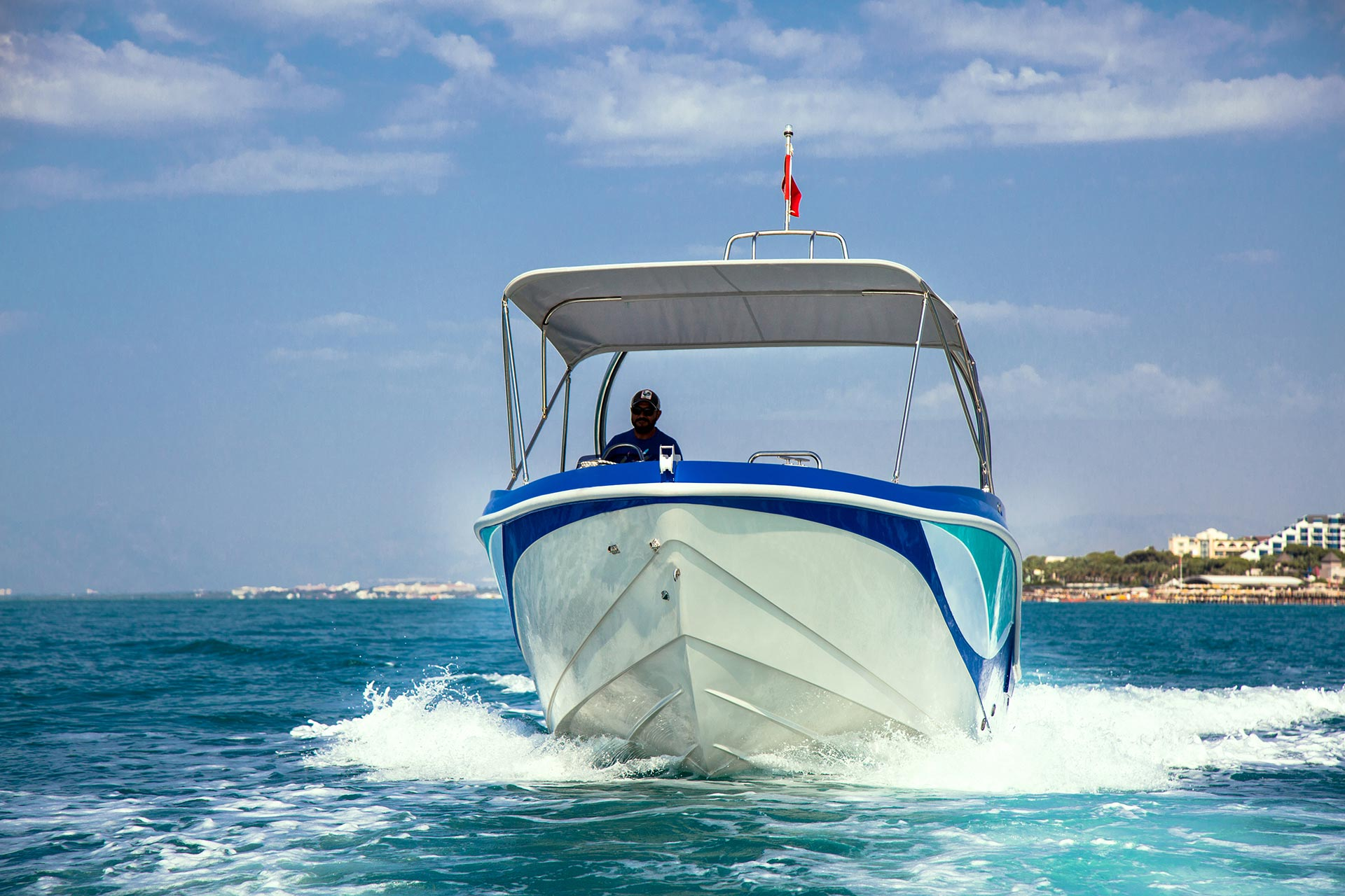 PARASAILING 32 - Mercan Yachting / Fiberglass Boats Builder